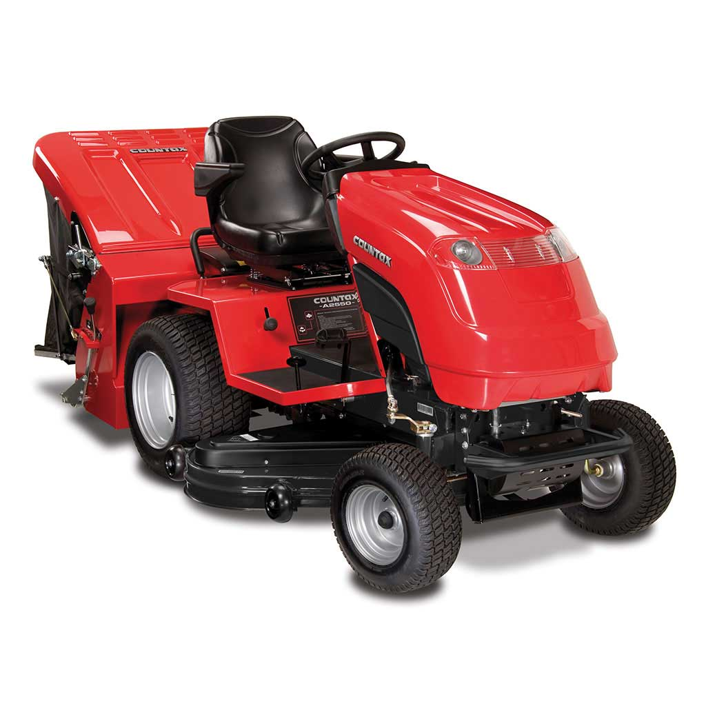 "Countax A25-50H Hydrostatic Ride On Lawn Tractor with 50"" Combi Deck-0"