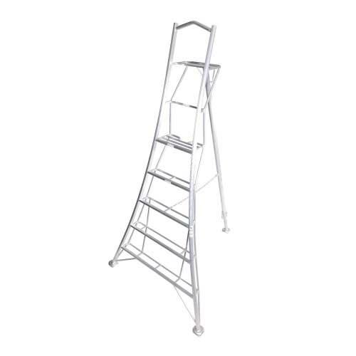 Henchman 3 Leg Adjustable Aluminum Tripod Ladder with Platform-0