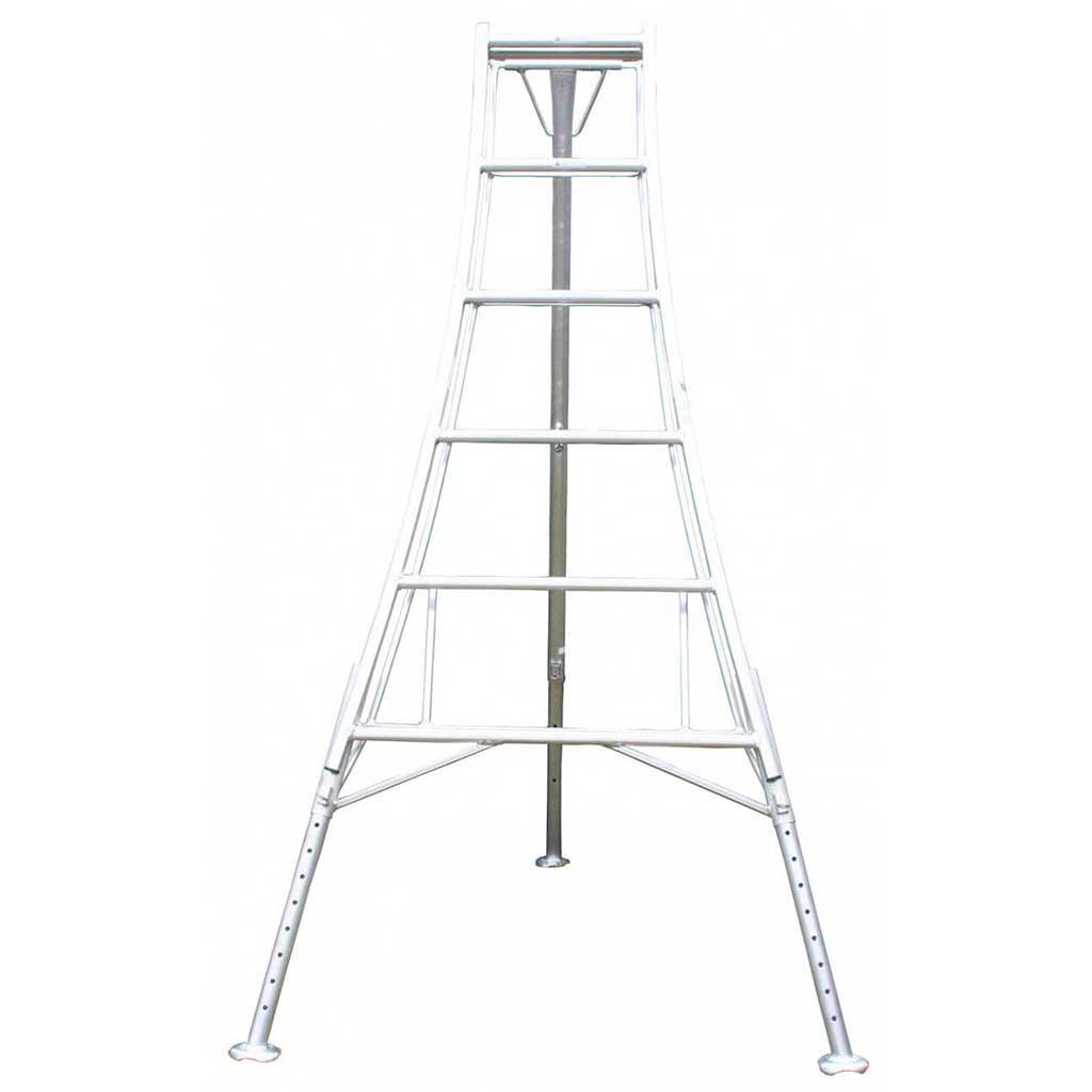 Workware 3-Leg Adjustable Aluminium Tri-Pod Ladder-0
