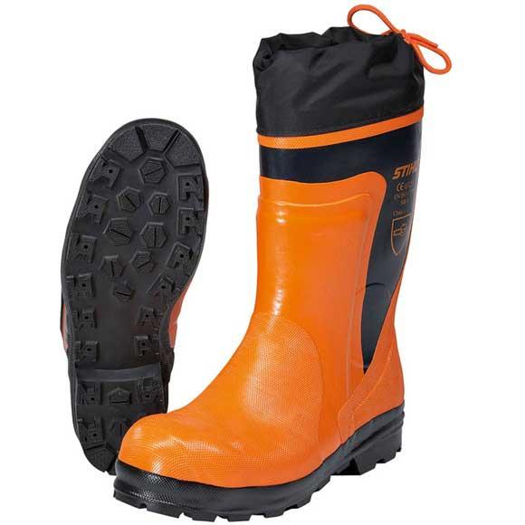Stihl STANDARD Rubber Chain Saw Boots-0