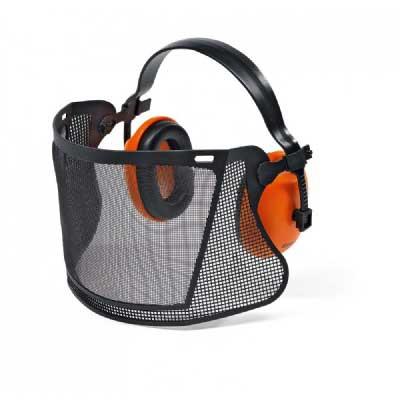 Stihl Face/Ear Protection with Nylon Mesh Visor & Ear Defenders-0
